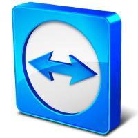 Logo di TeamViewer.