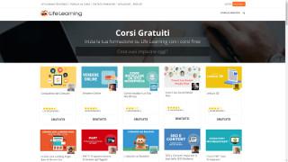 Screenshot homepage Lifelearning.it